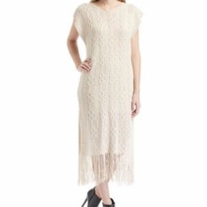 Pretty Angel sweater fringe dress